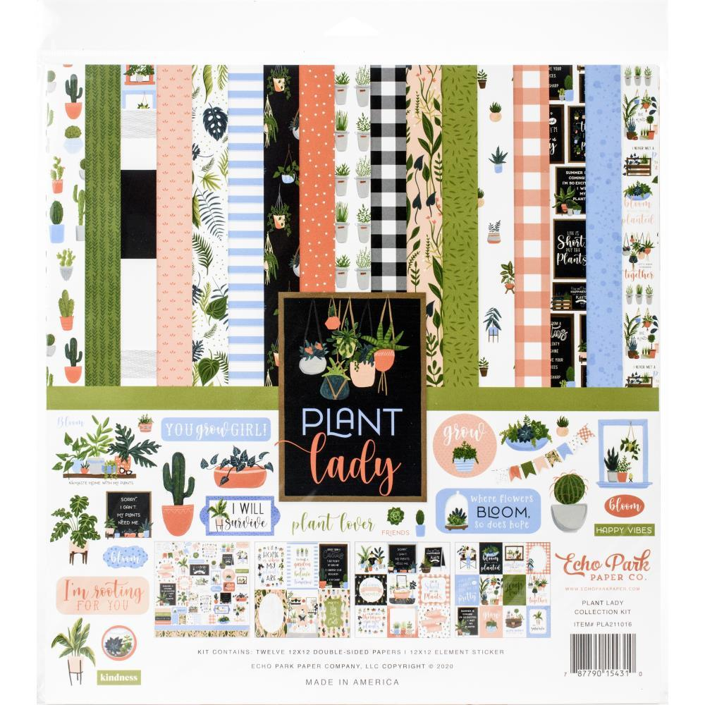 Echo Park Collection Kit 12in x 12in - Plant Lady