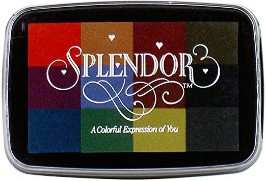 Splendor 12 Color Pigment Inkpad Antique