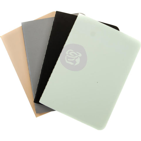 Prima Travelers Journal Passport Refill Notebook 4 pack Neutral