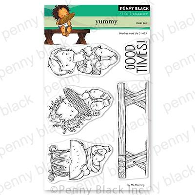 Penny Black Clear Stamps - Yummy