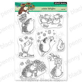 Penny Black Clear Stamps - Critter Delights