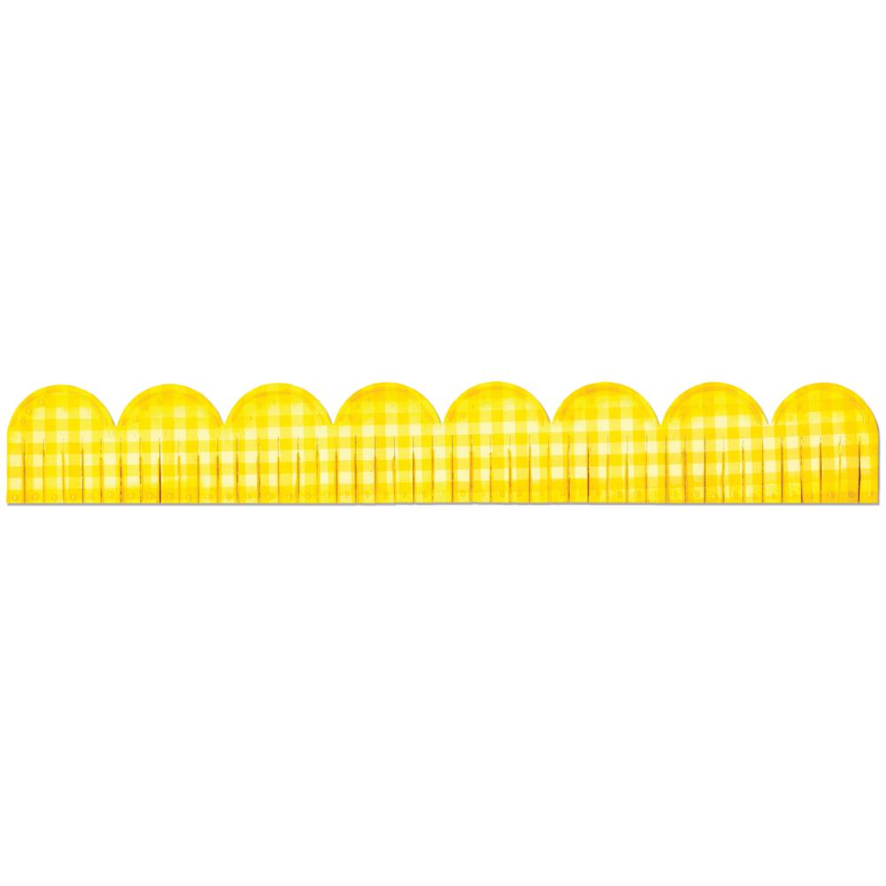 Sizzix Sizzlits Decorative Strip Die 12.625 inch X2.375 inch Fringed Scallop
