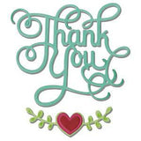 Sizzix Thinlits Dies 3 Pack Thank You With Hearts