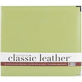 We R Classic Leather 3-Ring Album 12X12 Kiwi