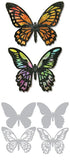Sizzix Thinlits Dies 4 Pack By Tim Holtz Detailed Butterflies