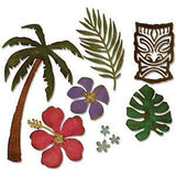 Sizzix Thinlits Dies 8 Pack By Tim Holtz Tropical