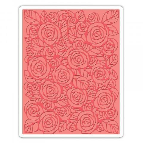 Tim Holtz Texture Fades Embossing Folder - Roses