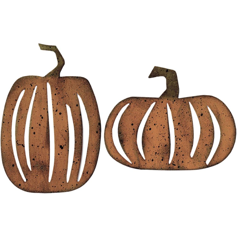 Sizzix Bigz XL Die By Tim Holtz 6 inch X13.75 inch Pumpkin Patch