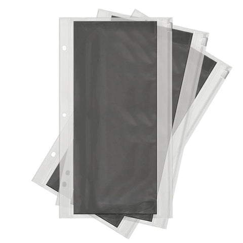 We R Memory Keepers - We R Die Storage Album Pouches 3 pack 6 inch X12 inch , For 662595