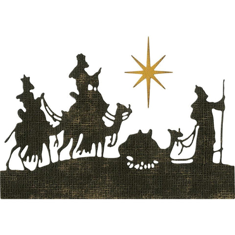 Sizzix Thinlits Dies By Tim Holtz 2 pack Wise Men