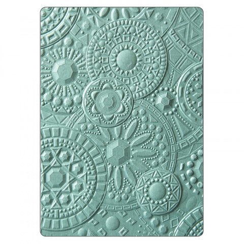 Sizzix 3D Textured Impressions By Courtney Chilson Mosaic Gems