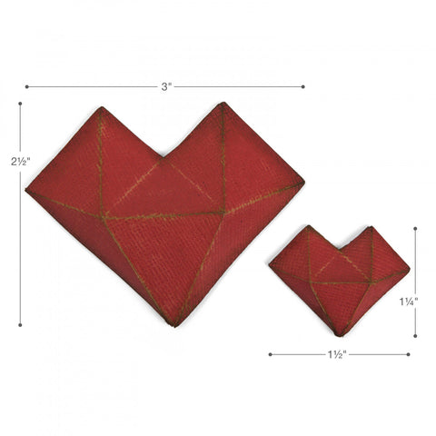 Sizzix Thinlits Dies By Tim Holtz Faceted Heart