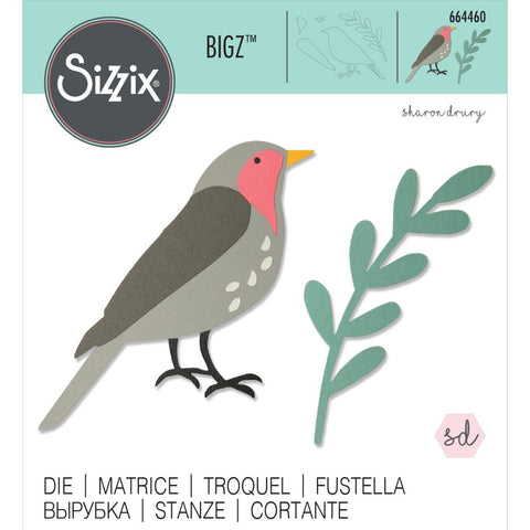 Sizzix - Bigz Die - Fly the Nest by Sharon Drury