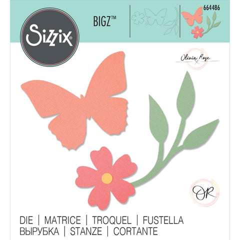 Sizzix - Bigz Die - Garden Wings by Olivia Rose