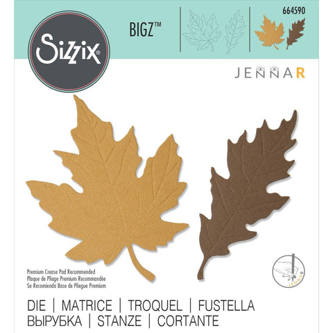 Sizzix - Bigz Die - Autumnal Leaves by Jenna Rushforth