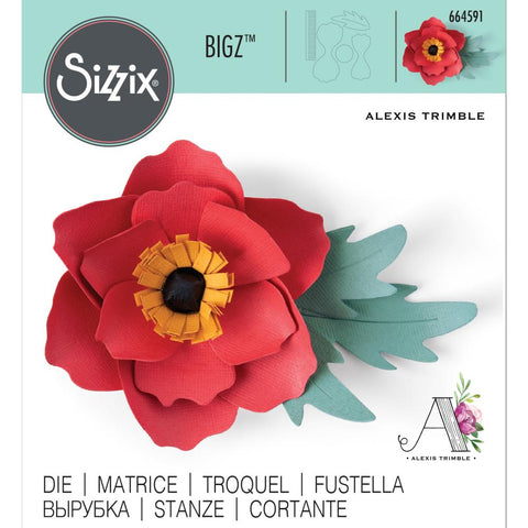 Sizzix - Bigz Die - Anemone Flower by Alexis Trimble