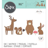 Sizzix - Bigz Die - Forest Friends by Olivia Rose