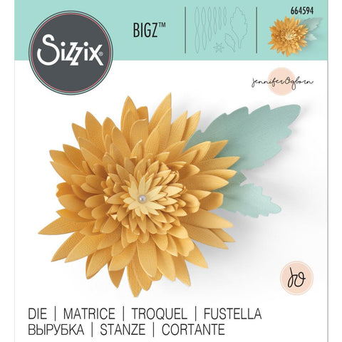 Sizzix - Bigz Die - Chrysanthemum by Jennifer Ogborn