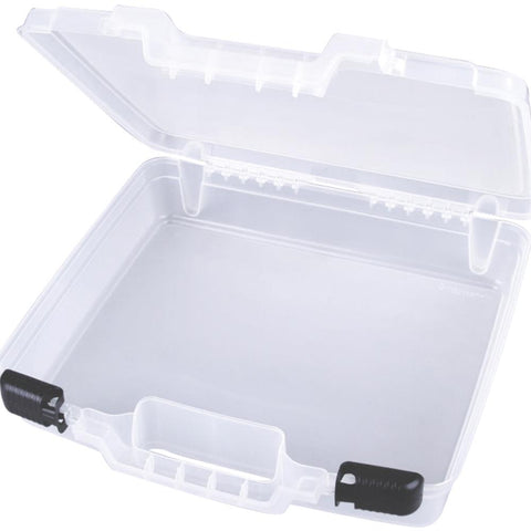 ArtBin Quick View Deep Base Carrying Case 15 inch X3.25 inch X14.375 inch TranslucentA