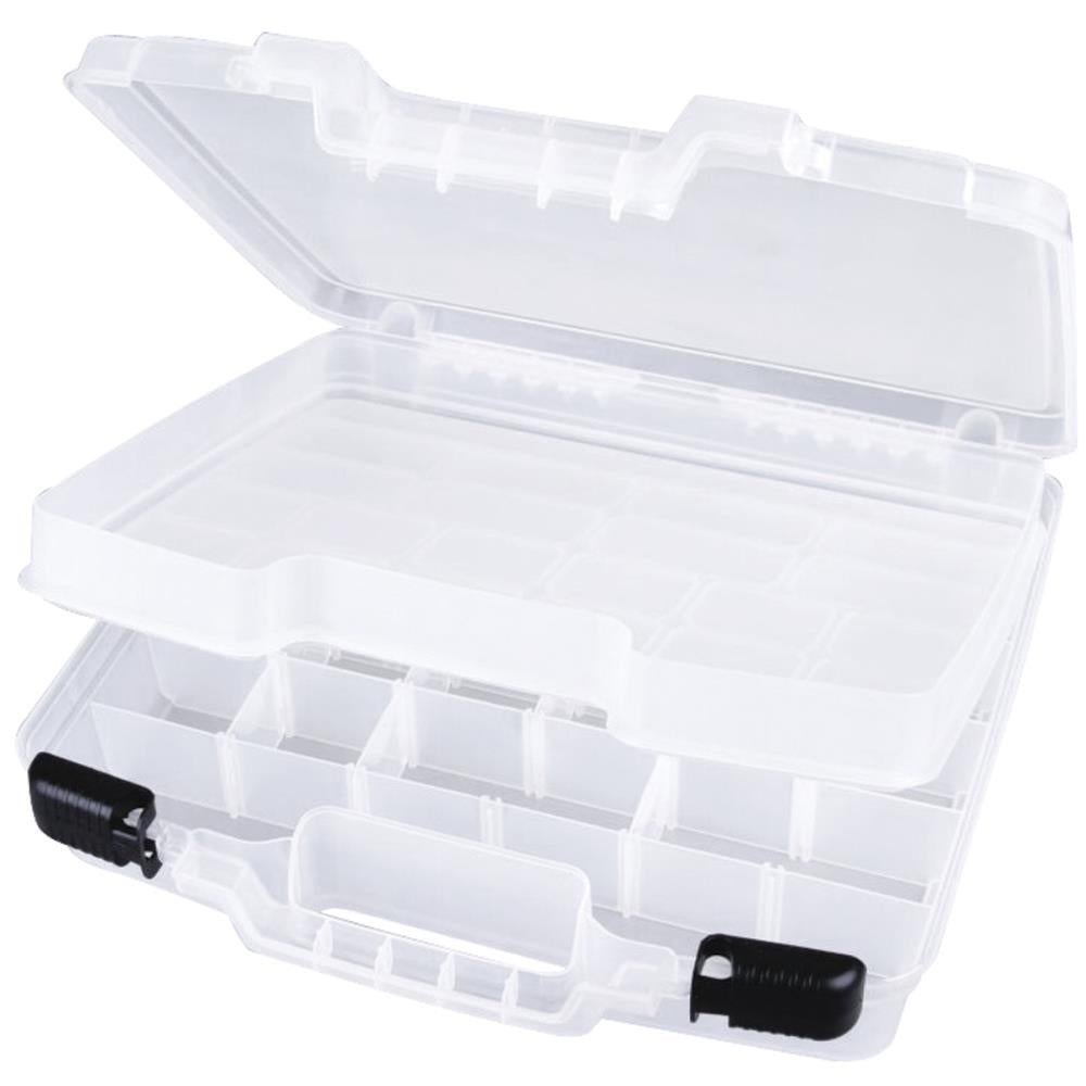 ArtBin Quick View Deep Base Carrying Case 15 inch X3.25 inch X14.375 inch Translucent