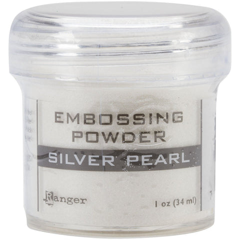 Embossing Powder Silver Pearl