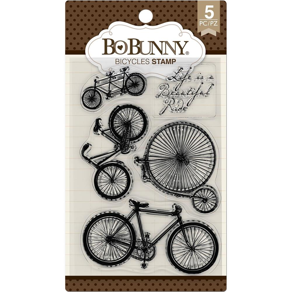 BoBunny Stamps Bicycles