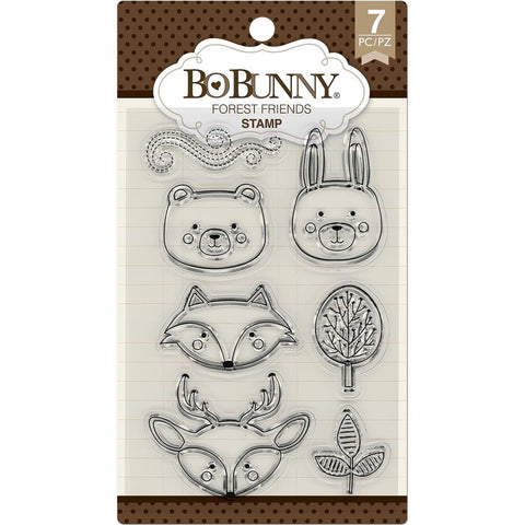 Bo Bunny Stamps Forest Friends