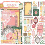 BoBunny Sunshine Bliss Noteworthy Die-Cuts 41 pack