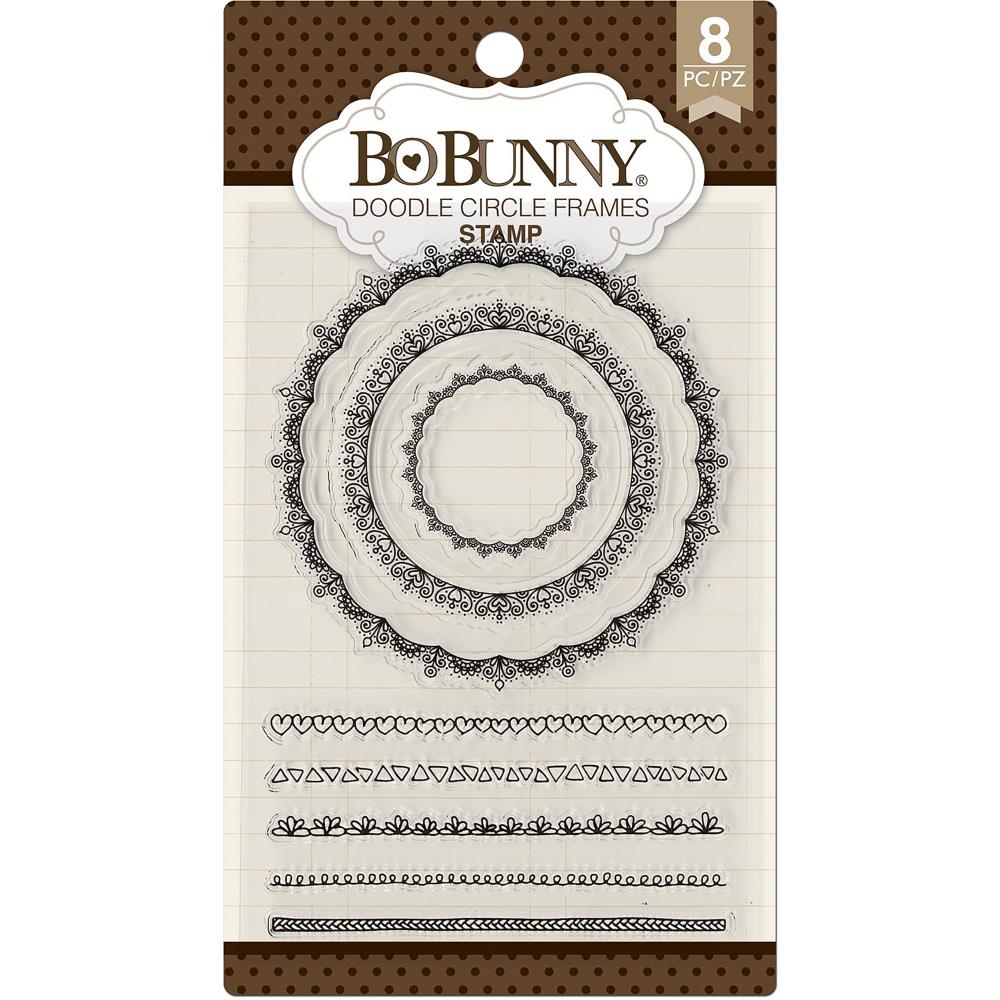 Bo Bunny Stamps Doodle Circle Frames