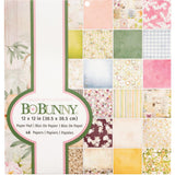 BoBunny Single-Sided Paper Pad 12X12 48/Pkg Garden Grove, 24 Designs/2 Each