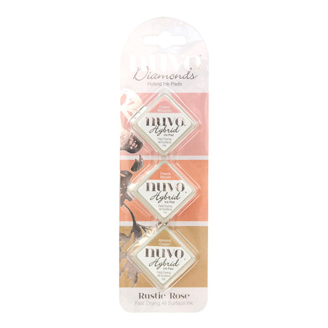 Nuvo - Rustic Rose Collection - Diamond Hybrid Ink Pad - Rustic Rose