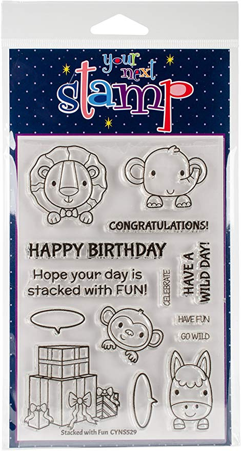 Your Next Stamp Clear Stamps 4X6 Stacked With Fun