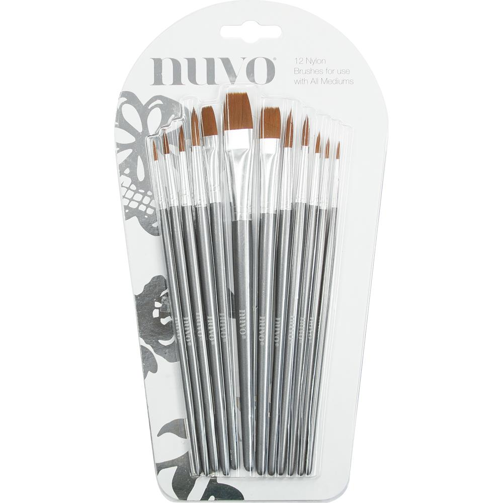 Tonic Studios - Nuvo Paint Brushes 12 pack