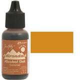 Adirondack Alcohol Ink .5 Ounce -  Earthtones - Caramel