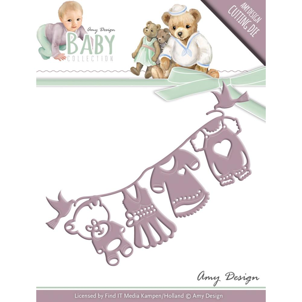 Find It Trading Amy Design Baby Die Clothesline