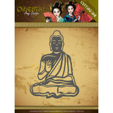 Find It Trading Amy Design Oriental Die Meditating Buddhist