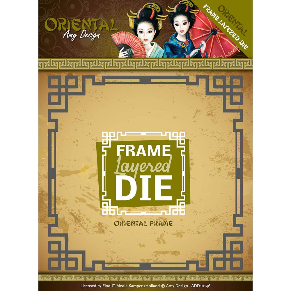 Find It Trading Amy Design Oriental Die Layered Frames