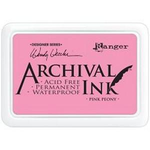 Wendy Vecchi Designer Series Archival Ink Pad Pink Peony