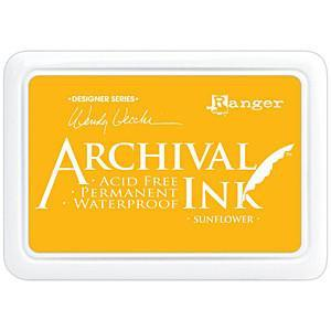 Wendy Vecchi Designer Series Archival Ink Pad - Sunflower
