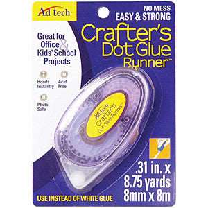 Ad-Tech - Crafters Dot Glue Runner .31In.X315in.