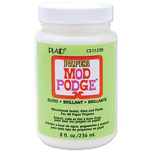 Mod Podge Paper Gloss Finish 8Oz