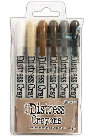 Tim Holtz Distress Crayon Set Set #3