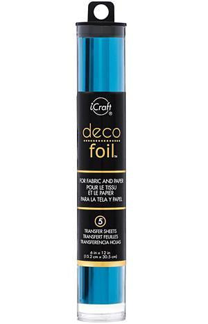 Thermoweb  - Deco Foil 6 Inch X12 Inch  5 Pack  Ocean Blue