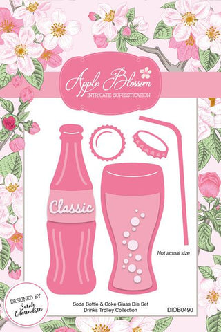 Apple Blossom - Drinks Trolley Collection - Soda Die Set