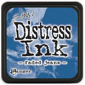 Tim Holtz Distress Mini Ink Pads - Faded Jeans