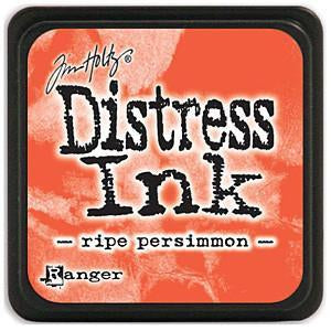 Tim Holtz Distress Mini Ink Pads - Ripe Persimmon