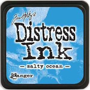 Tim Holtz Distress Mini Ink Pads - Salty Ocean