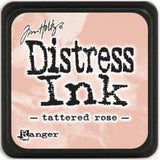 Tim Holtz Distress Mini Ink Pads Tattered Rose