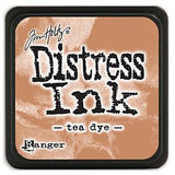 Tim Holtz Distress Mini Ink Pads - Tea Dye