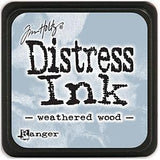 Tim Holtz Distress Mini Ink Pads - Weathered Wood